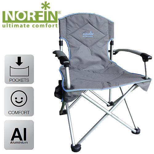 Кресло складное Norfin ORIVERSI NFL алюминиевое набор для пикника norfin eslov nfl 40105
