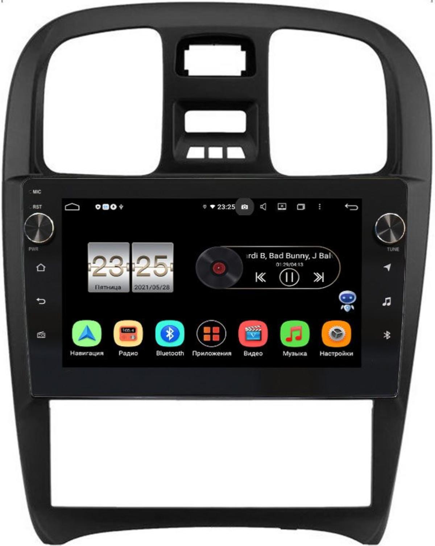 Штатная магнитола Hyundai Sonata IV (EF) 2001-2012 LeTrun BPX609-268 на Android 10 (4/64, DSP, IPS, с голосовым ассистентом, с крутилками) (+ Камера заднего вида в подарок!)
