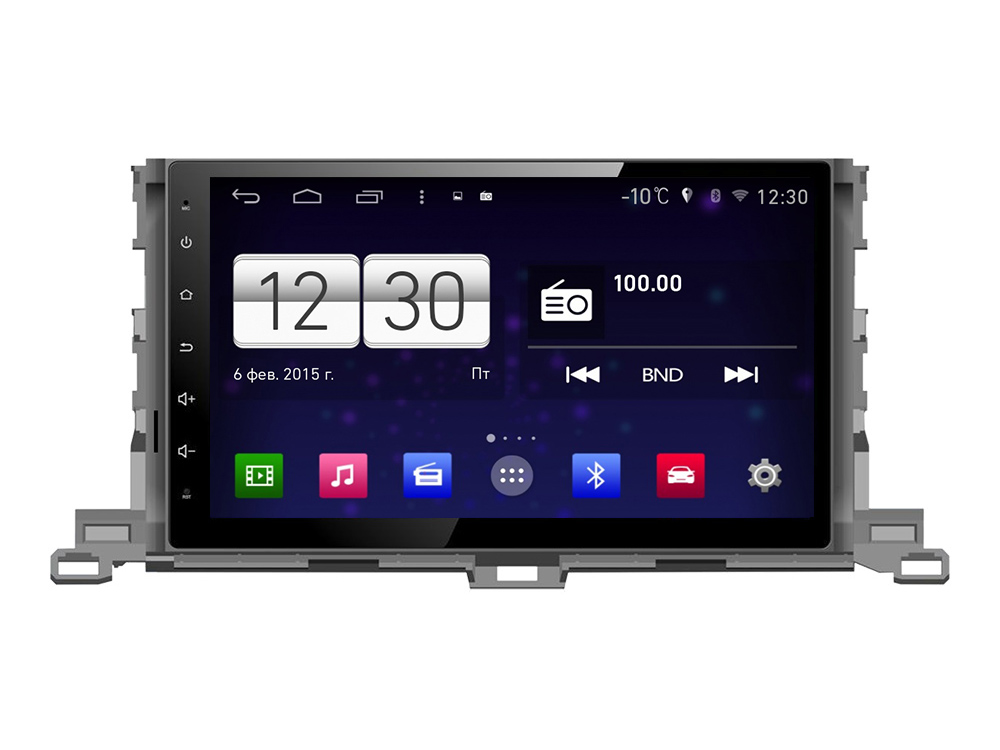 Штатная магнитола FarCar s160 для Toyota Highlander на Android (M467BS) штатная магнитола farcar s160 для audi a4 m050