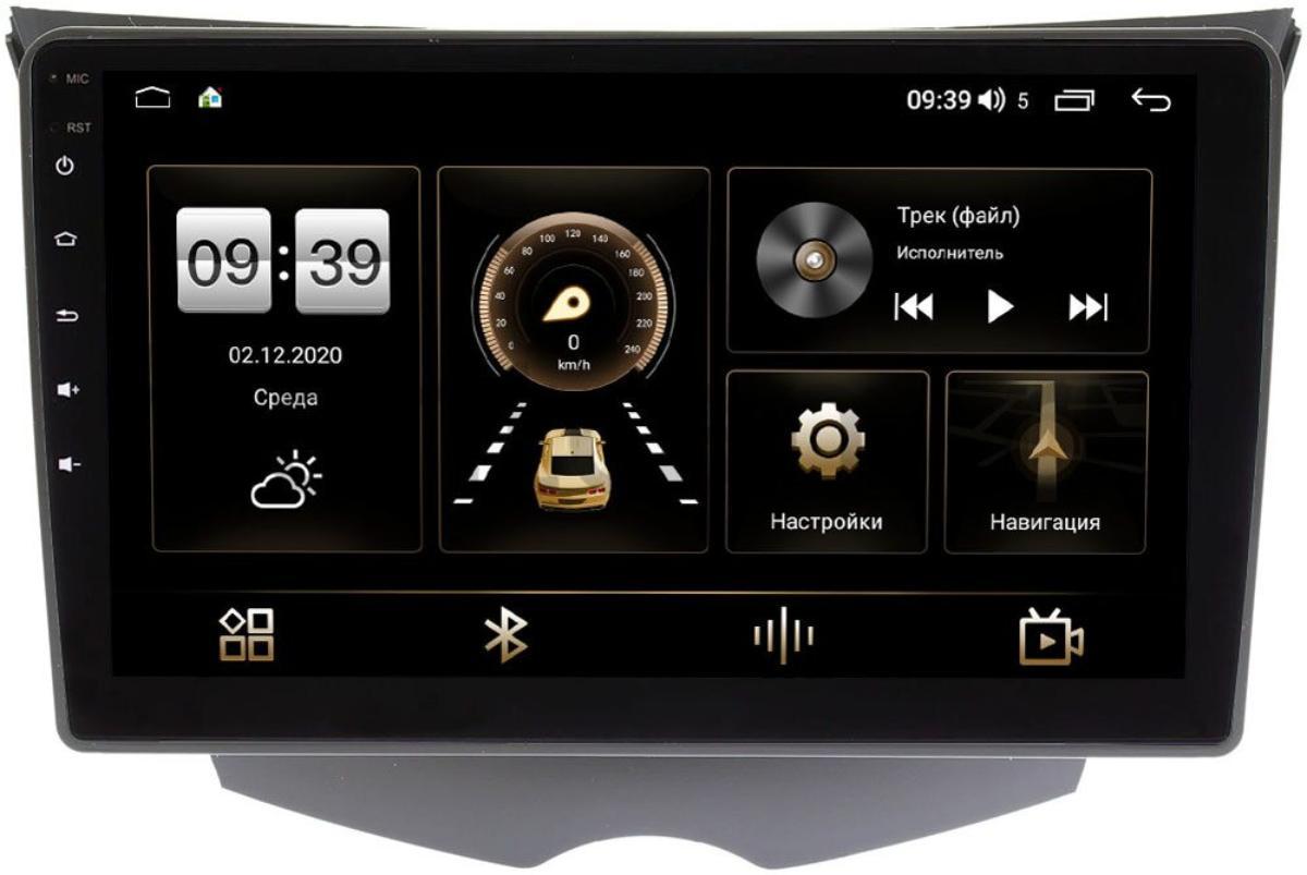 Штатная магнитола LeTrun 4166-9-319 для Hyundai Veloster I 2011-2017 на Android 10 (4G-SIM, 3/32, DSP, QLed) (+ Камера заднего вида в подарок!)