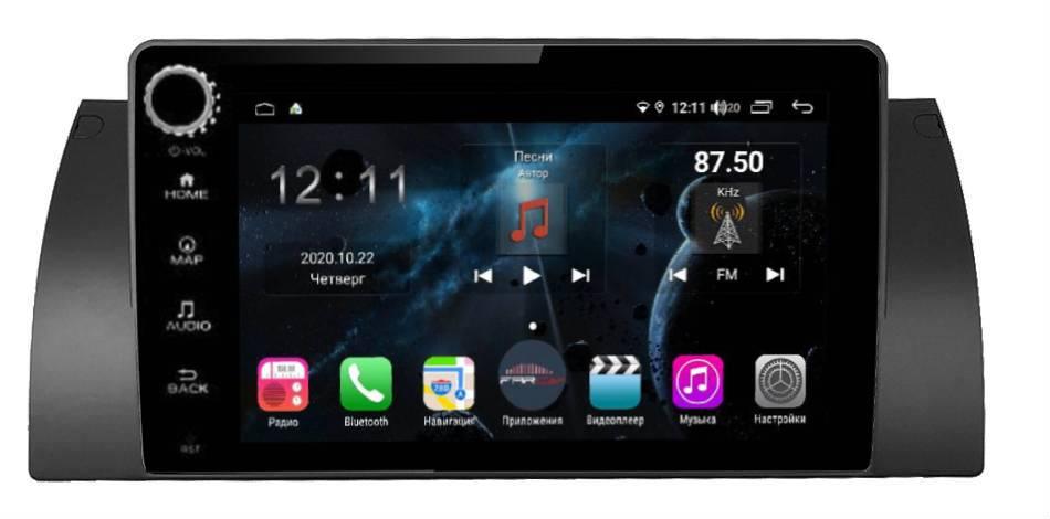 Штатная магнитола FarCar s400 для BMW E39 на Android (H395/707RB) (+ Камера заднего вида в подарок!)