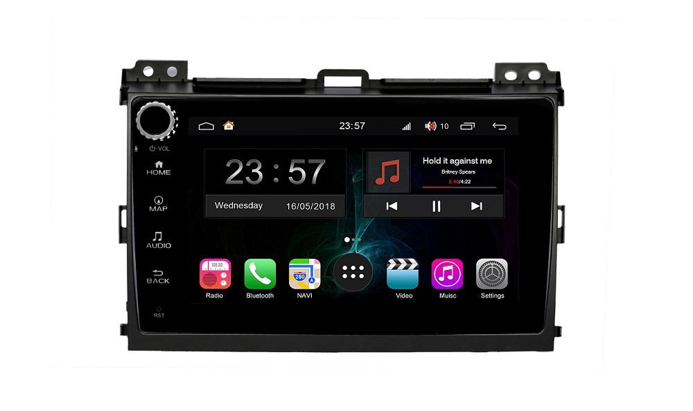 цена на Штатная магнитола FarCar s300-SIM 4G для Toyota PRADO на Android (RG456RB) (+ Камера заднего вида в подарок!)