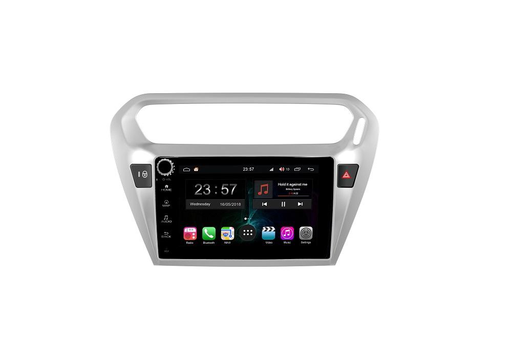 Штатная магнитола FarCar s300-SIM 4G для Peugeot 301, Citroen C-Elysee на Android (RG294RB) (+ Камера заднего вида в подарок!)