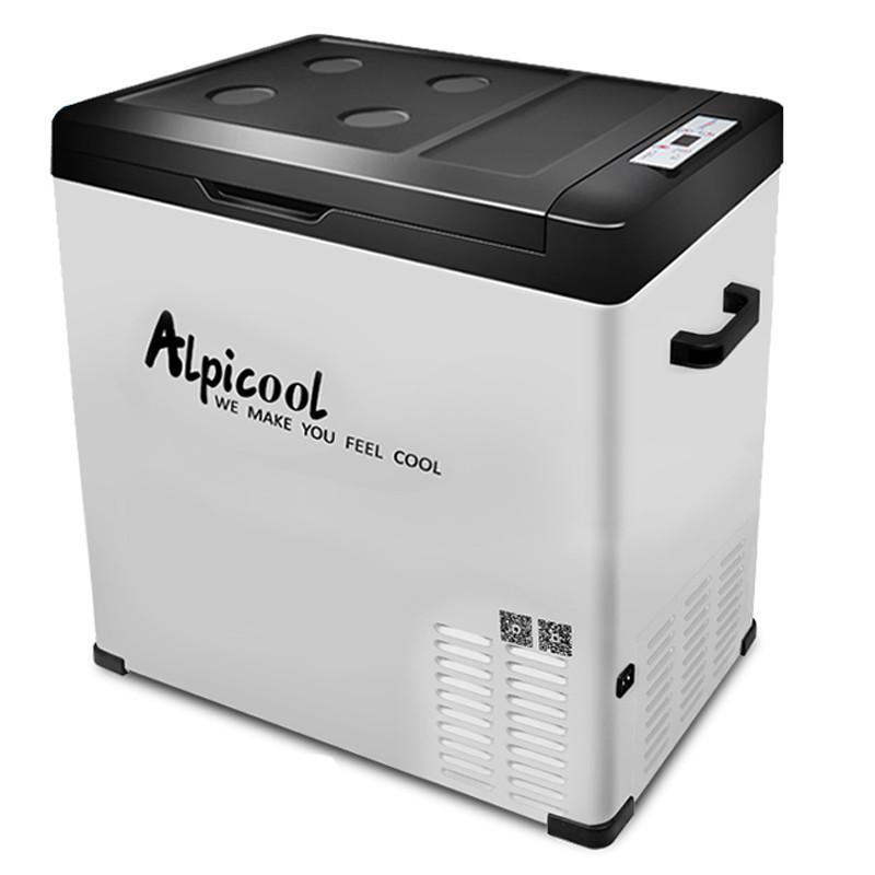 Kомпрессорный автохолодильник ALPICOOL C75 kомпрессорный автохолодильник alpicool cf 55 55л 12 24 220в
