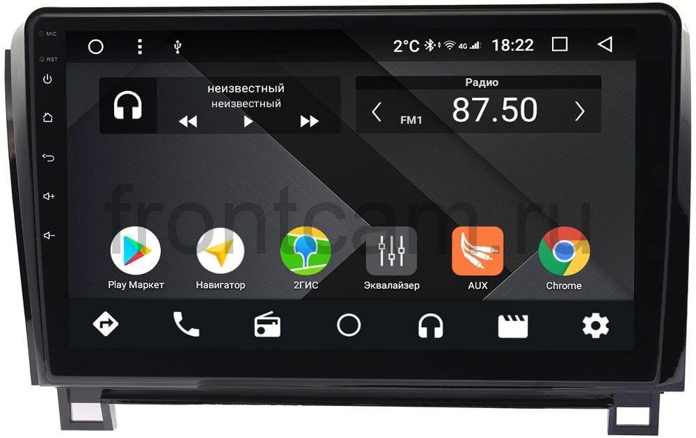 Штатная магнитола Toyota Tundra II, Sequoia II 2008-2018 Wide Media CF1062-OM-4/64 на Android 9.1 (TS9, DSP, 4G SIM, 4/64GB) (без усилителя JBL) (+ Камера заднего вида в подарок!)