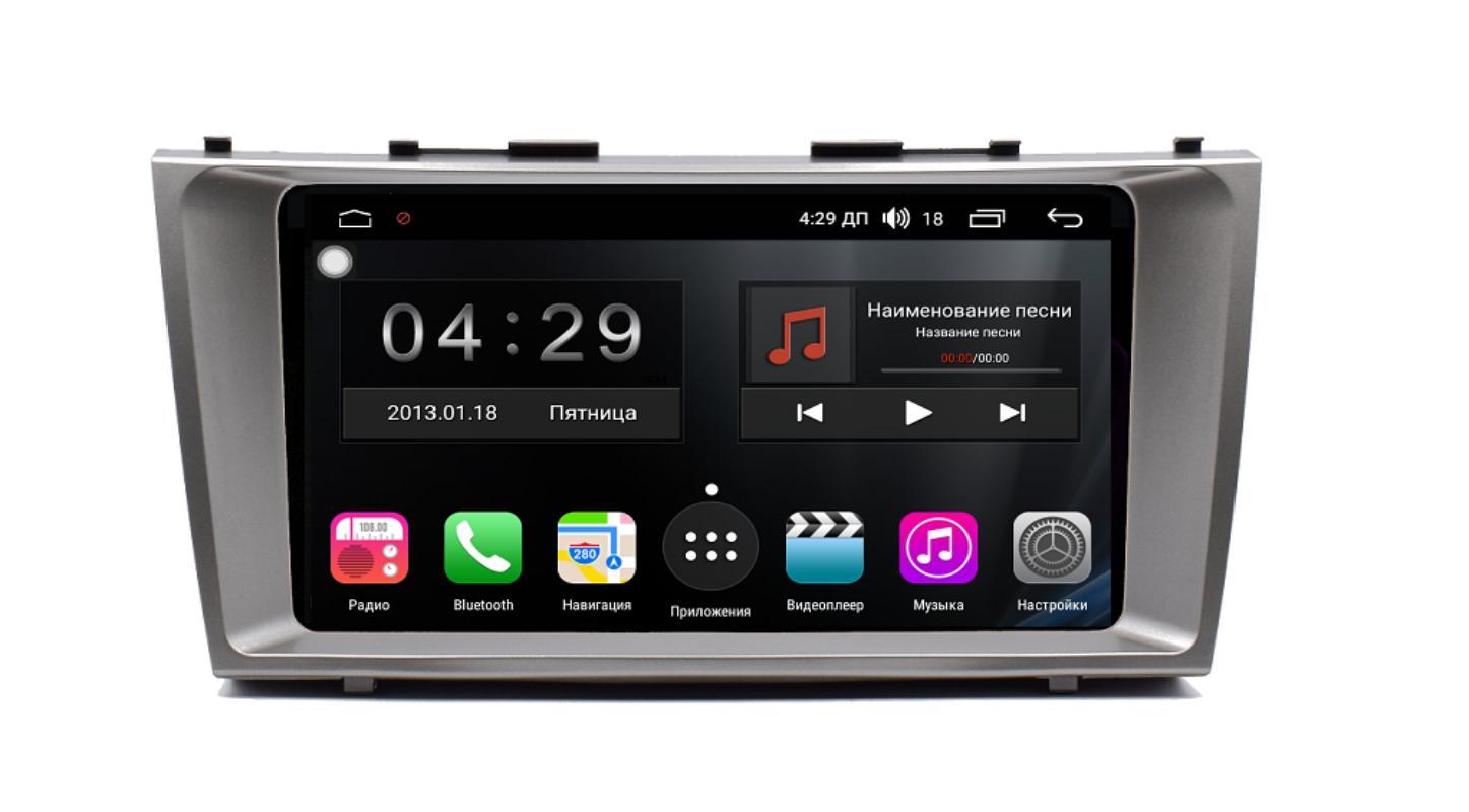 Штатная магнитола FarCar s300-SIM 4G для Toyota Camry 2006-2011 на Android (RG1171R) (+ Камера заднего вида в подарок!)