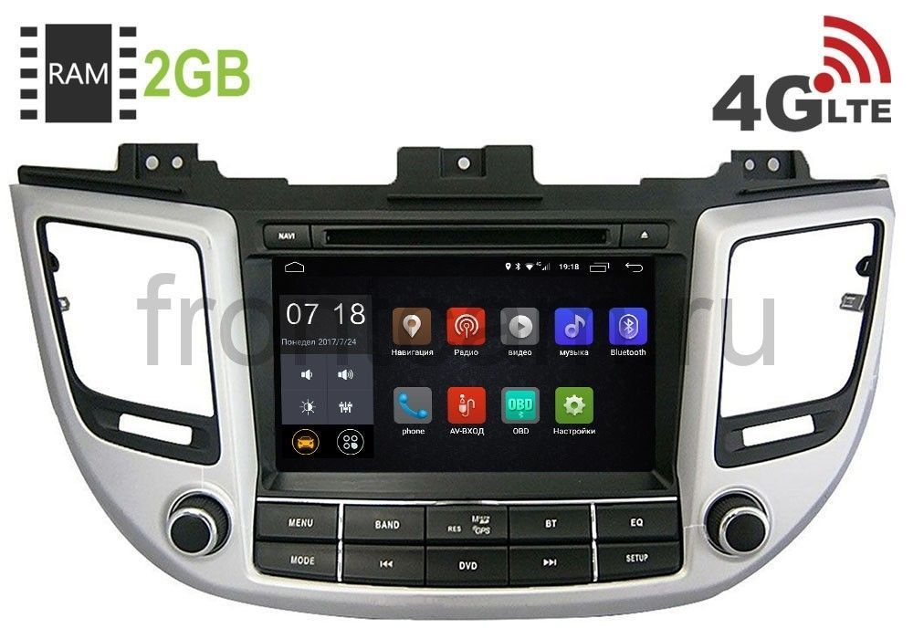 Фото - Штатная магнитола LeTrun 1689 для Hyundai Tucson III 2015-2017 Android 6.0.1 ruizu d01 16g black band touch mp3 mp4 lossless music player