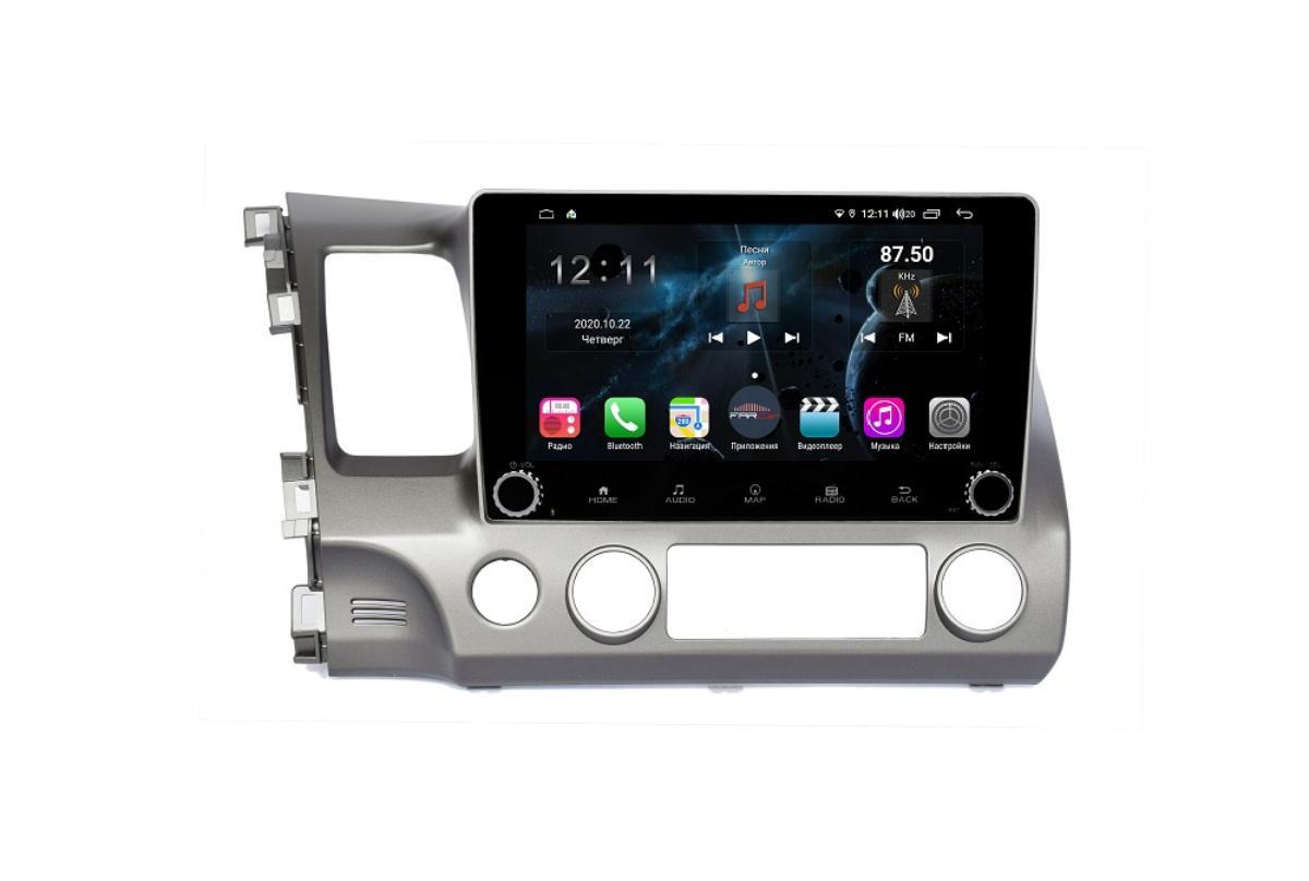 Штатная магнитола FarCar s400 для Honda Civic на Android (H044RB) (+ Камера заднего вида в подарок!)