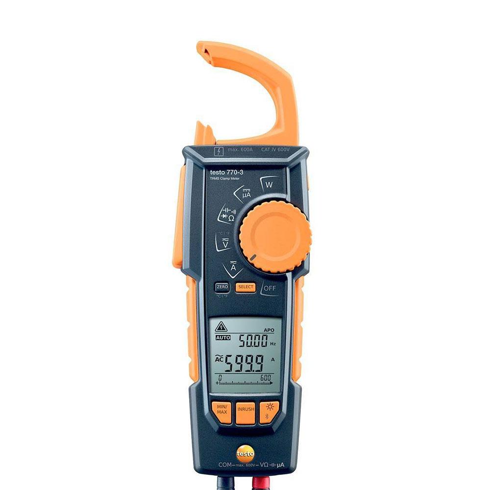 Клещи токовые с функцией измерения истинного СКЗ Testo 770-3.