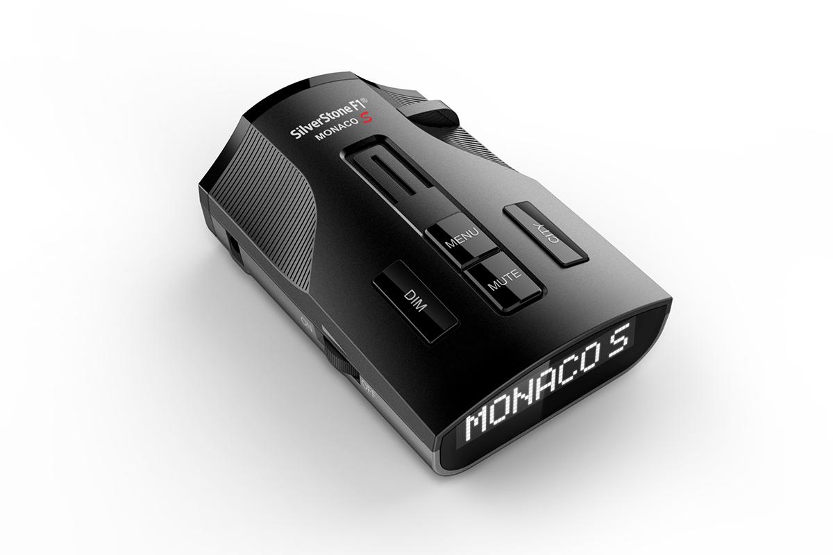 Радар-детектор сигнатурный SilverStone F1 Monaco S (+ Антисептик-спрей для рук в подарок!)