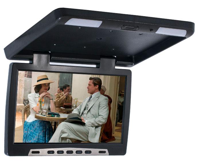 Автомобильный потолочный монитор 17.3 ERGO ER17F (черный)