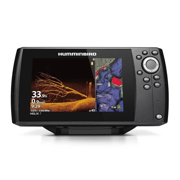 цена на Эхолот/картплоттер Humminbird HELIX 7x CHIRP MEGA DI GPS G3N (+ Аккумулятор, зарядка и струбцина в подарок!)