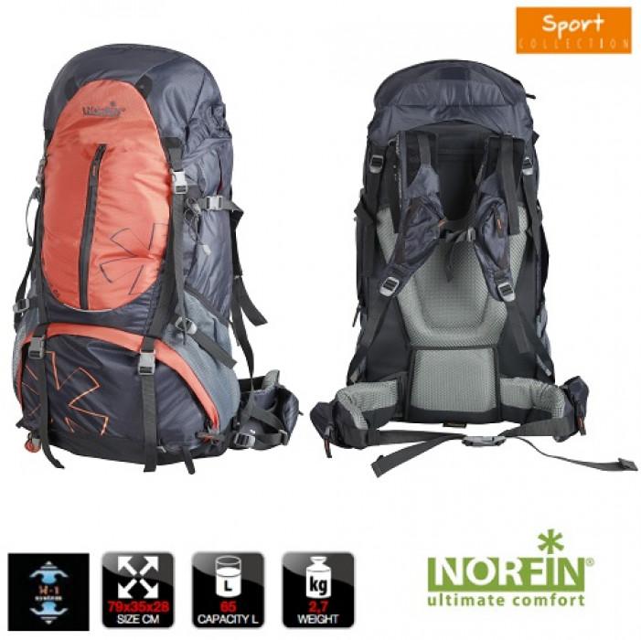 Рюкзак Norfin NEWEREST 65 NS рюкзак рыболовный salmo 105л