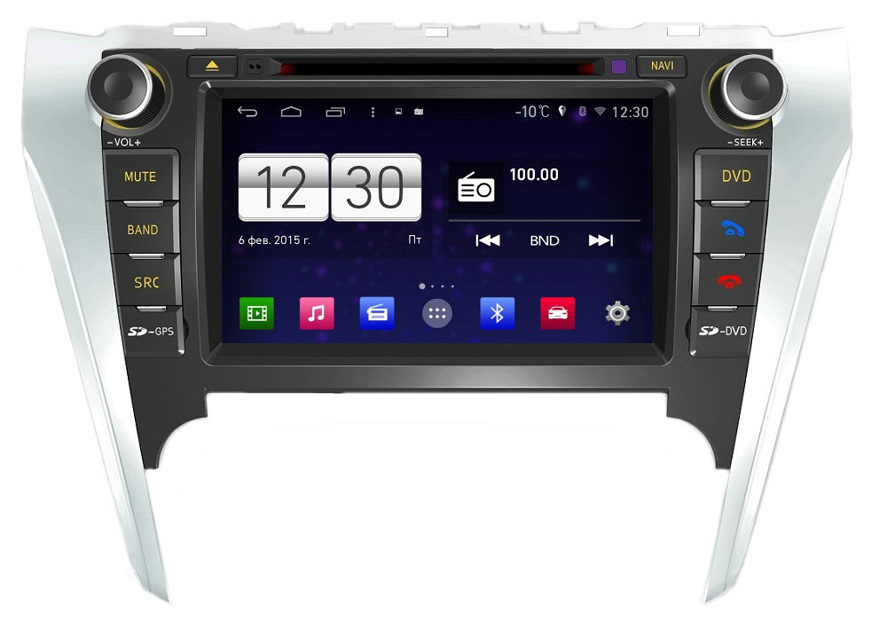 Штатная магнитола FarCar s160 для Toyota Camry 2012+ (M131) на Android (+ Камера заднего вида в подарок!)