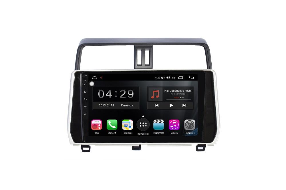 Штатная магнитола FarCar s200+ для Toyota Land Cruiser Prado 150 (2017+) на Android (A1053R) штатная магнитола farcar s200 для toyota land cruiser prado 150 2014 на android v347r dsp