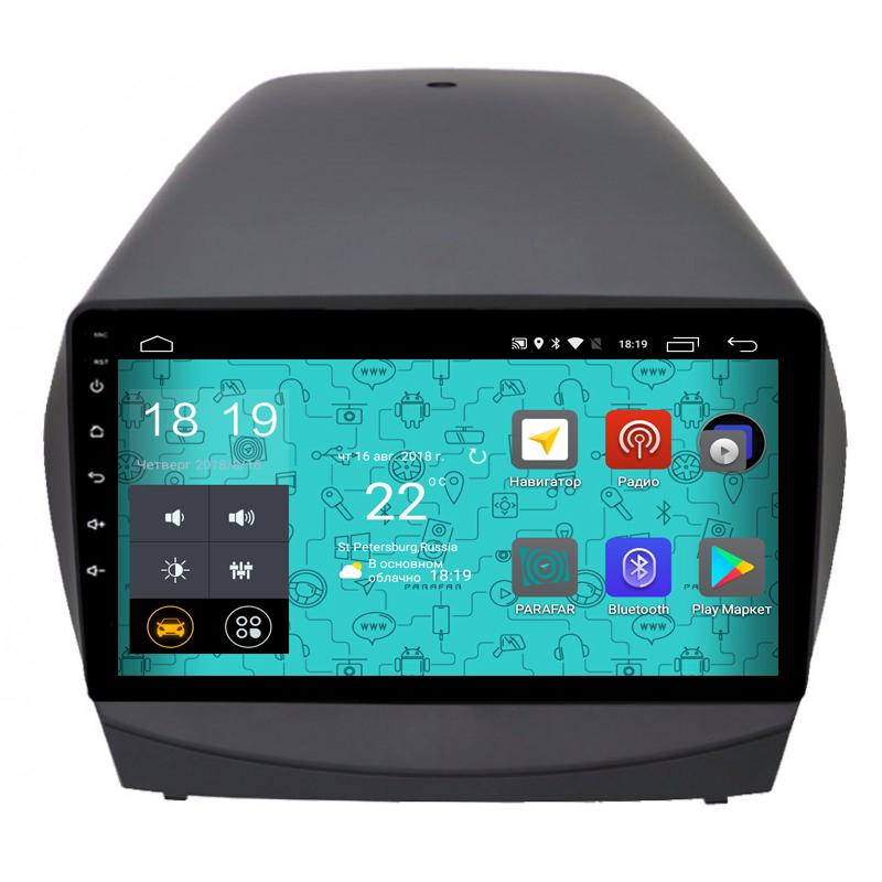 Штатная магнитола Parafar 4G/LTE с IPS матрицей для Hyundai IX35 2010-2015 на Android 7.1.1 (PF361) unlocked netger 4g 150mbps sierra wireless router aircard 770s 4g lte mobile wifi hotspot dongle 4g pocket wifi