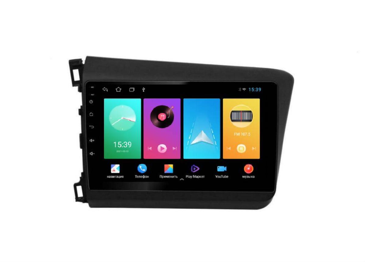 Штатная магнитола FarCar для Honda Civic на Android (D132M)