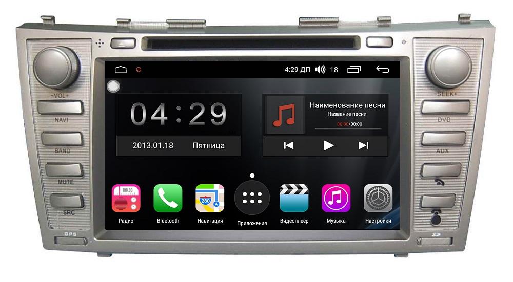 Штатная магнитола FarCar s300-SIM 4G для Toyota Camry на Android (RG064) (+ Камера заднего вида в подарок!)