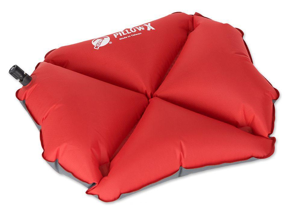 Надувная подушка Pillow X Red, красная (12PXRd01C)