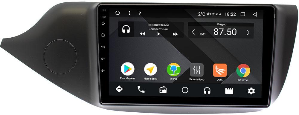 Штатная магнитола Kia Ceed II 2012-2018 Wide Media CF9098-OM-4/64 на Android 9.1 (TS9, DSP, 4G SIM, 4/64GB) (+ Камера заднего вида в подарок!)