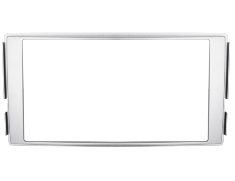 Переходная рамка Intro RHY-N04 для Hyundai Santa Fe 06-12 2DIN Silver переходная рамка intro rsc n04 для skoda octavia 04 12 2din крепеж