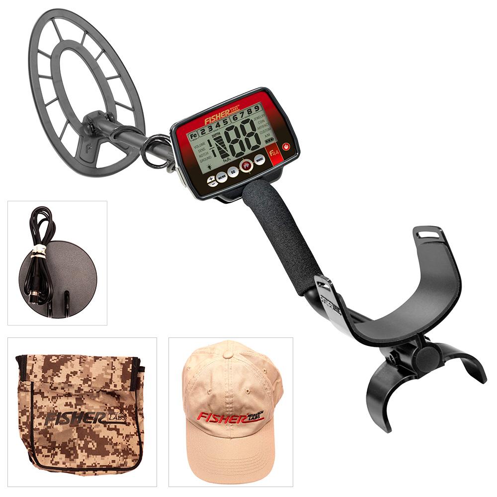 Fisher F44 (+ Совок поисковый в подарок!) fisher f44 лопата и рюкзак в подарок