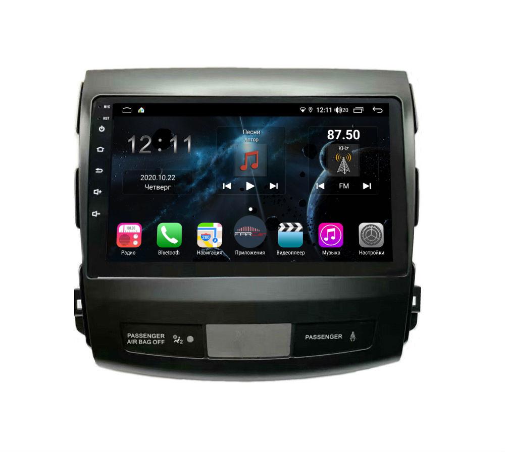 Штатная магнитола FarCar s400 для Mitsubishi Outlander XL,Citroen C-Crosser, Peugeot 4007 на Android (H056R) (+ Камера заднего вида в подарок!)