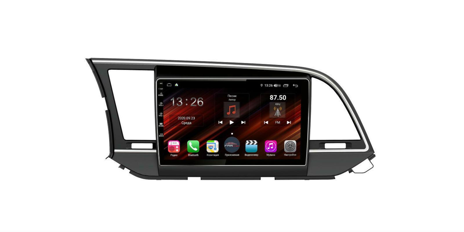 Штатная магнитола FarCar s400 Super HD для Hyundai Elantra на Android (XH581R) (+ Камера заднего вида в подарок!)