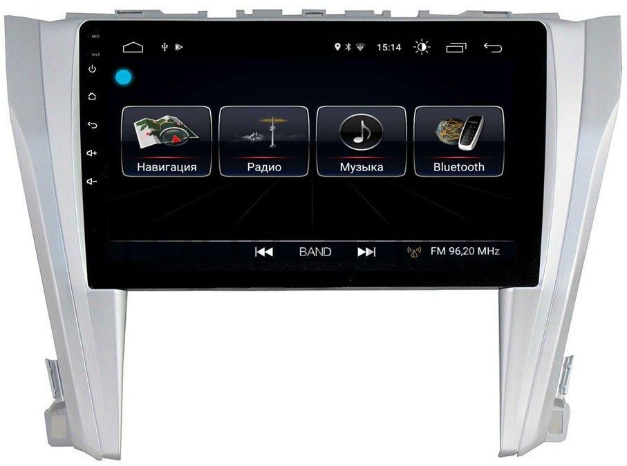 Штатная магнитола LeTrun 1866 для Toyota Camry V55 2014-2018 на Android 8.0.1 MTK-L 1Gb (+ Камера заднего вида в подарок!) штатная магнитола carmedia kdo 1030 dvd toyota camry 11 2014 v55
