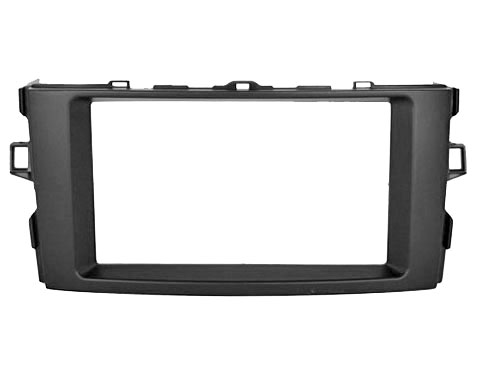 Переходная рамка Intro RTY-N18 для Toyota Auris до 2012 2DIN переходная рамка intro rfi n07a для fiat 500l от 2012