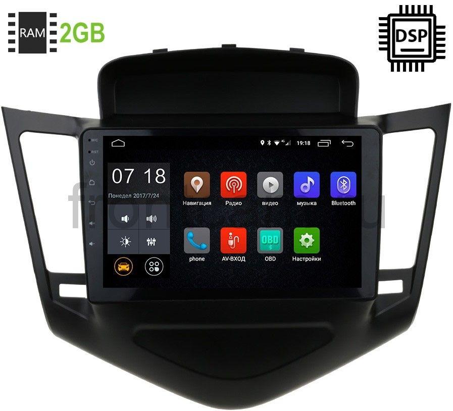 Штатная магнитола LeTrun 1893-2986 Chevrolet Cruze 2009-2013 Android 9.0 9 дюймов (DSP 2/16GB) 9010 (+ Камера заднего вида в подарок!)