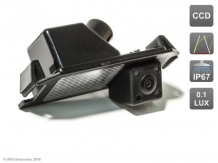 CCD штатная камера заднего вида с динамической разметкой AVS326CPR (#026) для автомобилей HYUNDAI/ KIA