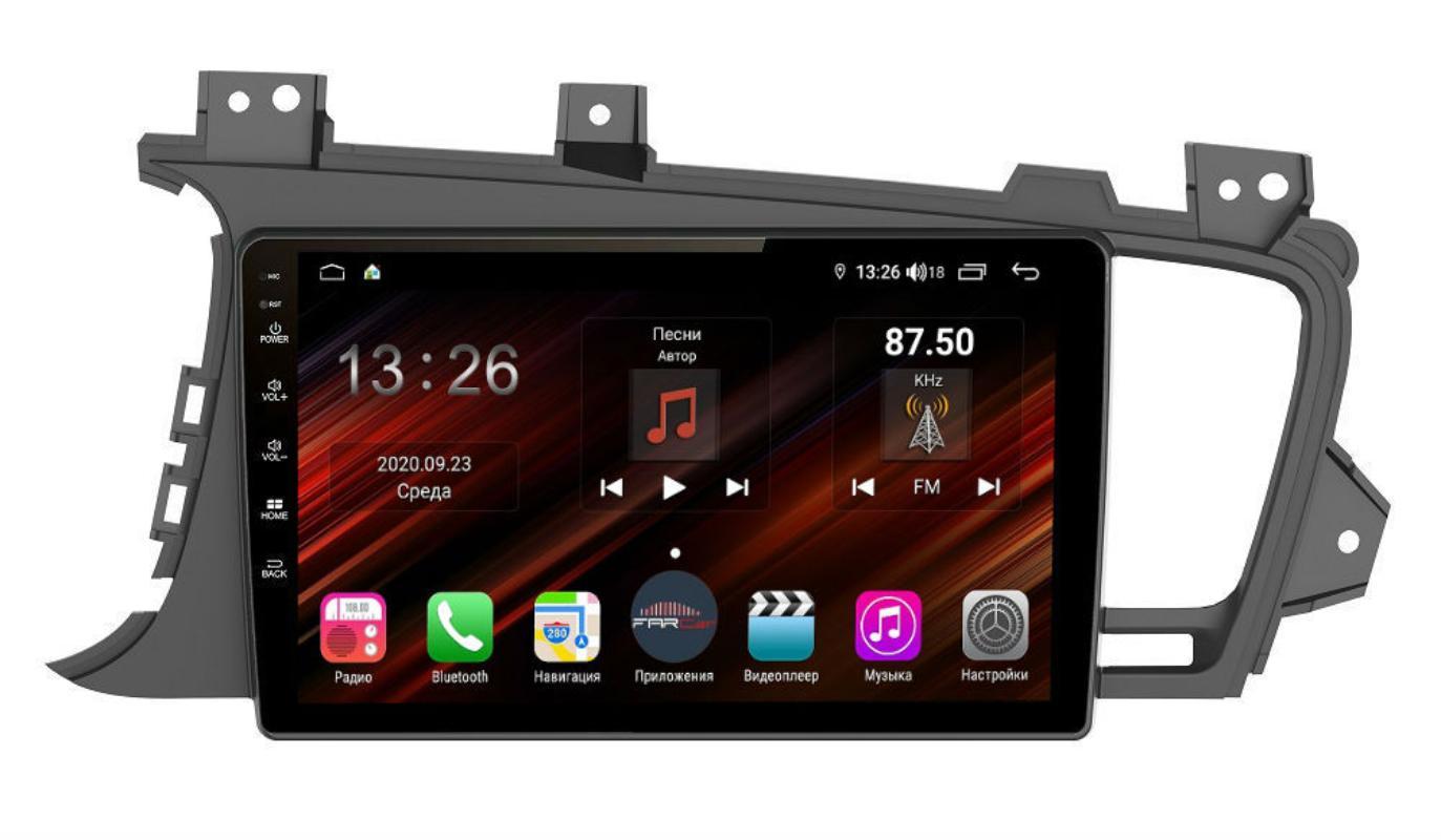 Штатная магнитола FarCar s400 Super HD для KIA Optima на Android (XH091R) (+ Камера заднего вида в подарок!)