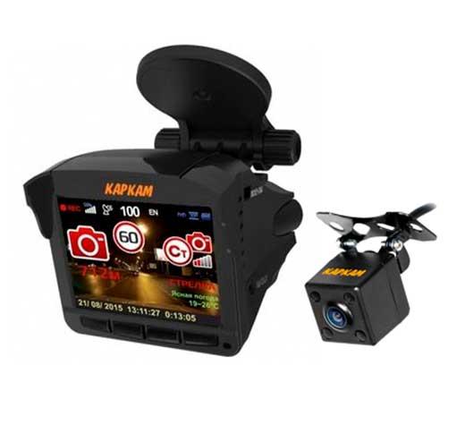 Видеорегистратор  радар-детектором КАРКАМ Комбо 3S