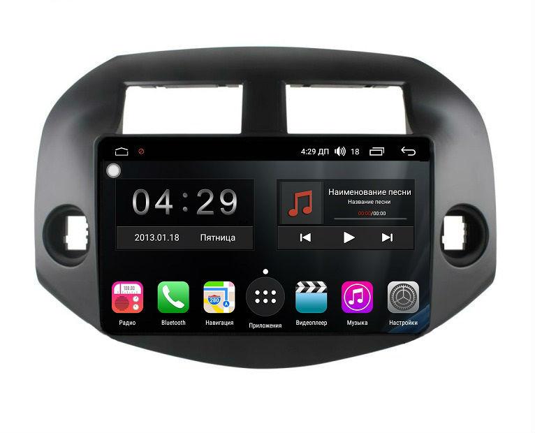 Штатная магнитола FarCar s300-SIM 4G для Toyota RAV-4 (XA30) 2006-2012 на Android (RG018R) (+ Камера заднего вида в подарок!)