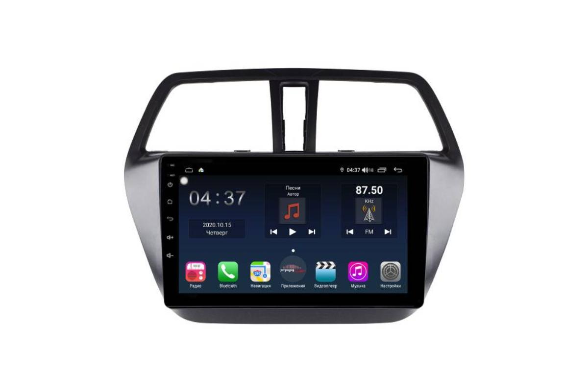 Штатная магнитола FarCar s400 для Suzuki Sx-4 на Android (TG337R) (+ Камера заднего вида в подарок!)