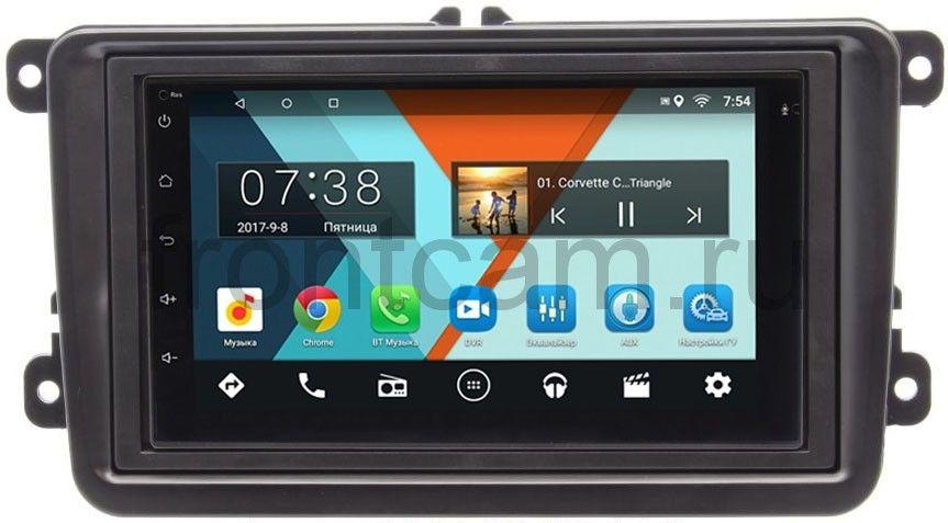Штатная магнитола Volkswagen Amarok, Caddy, Golf, Passat, Polo Wide Media MT7001-RP-VWTRN-22 на Android 6.0.1 цена