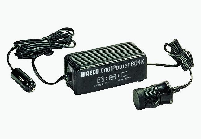 Преобразователь напряжения WAECO CoolPower 804K (24В > 12В, 48 Вт) кабель heyner премиум 511350 удлинительный 12в 24в 10 а черный