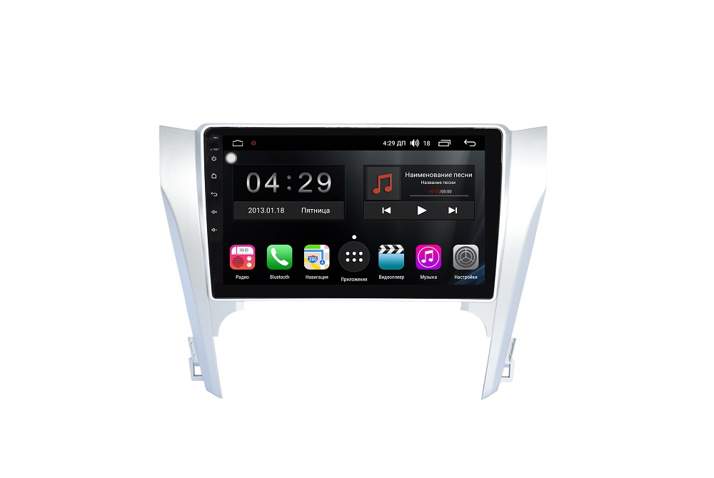 Штатная магнитола FarCar s300 для Toyota Camry 2012+ на Android (RL131R) штатная магнитола incar tsa 2243 для toyota camry 2014 2015 android 8 0