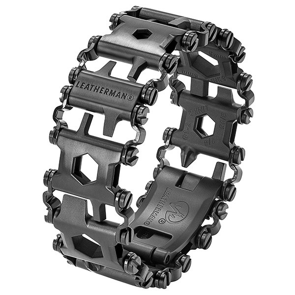 Мультитул Leatherman Tread Black NEW (мetric) (+ Power Bank в подарок!)