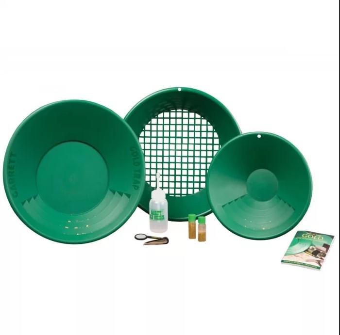 Комплект лотков золотопромывочных Gold Pan Kit w/Gold Trap