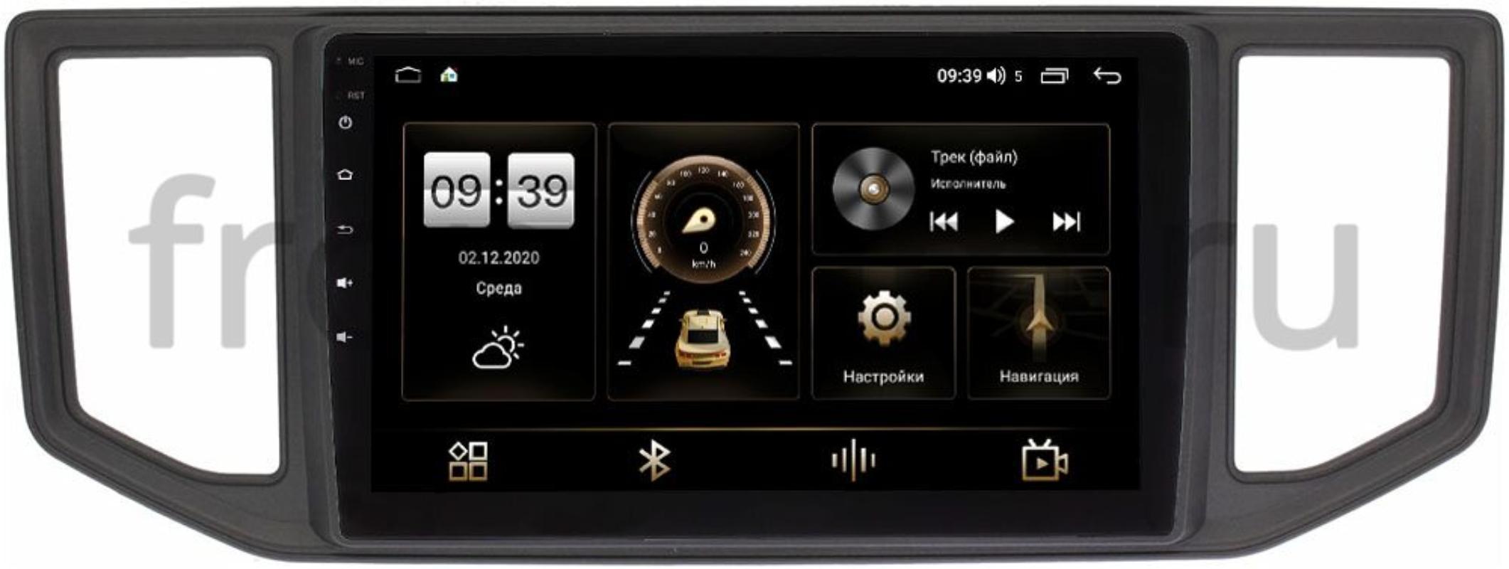 Штатная магнитола LeTrun 4195-10-785 для Volkswagen Crafter 2016-2021 на Android 10 (6/128, DSP, QLed) С оптическим выходом (+ Камера заднего вида в подарок!)