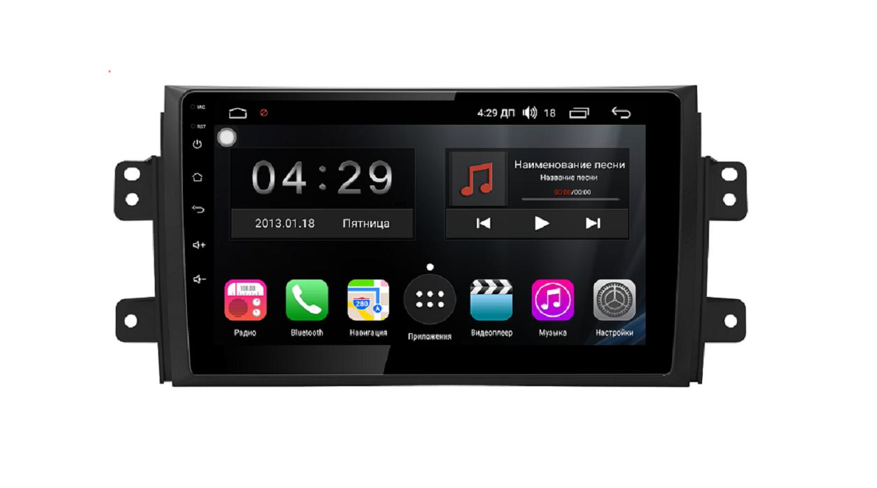 Штатная магнитола FarCar s300 для Suzuki Sx-4 на Android (RL124R) (+ Камера заднего вида в подарок!)