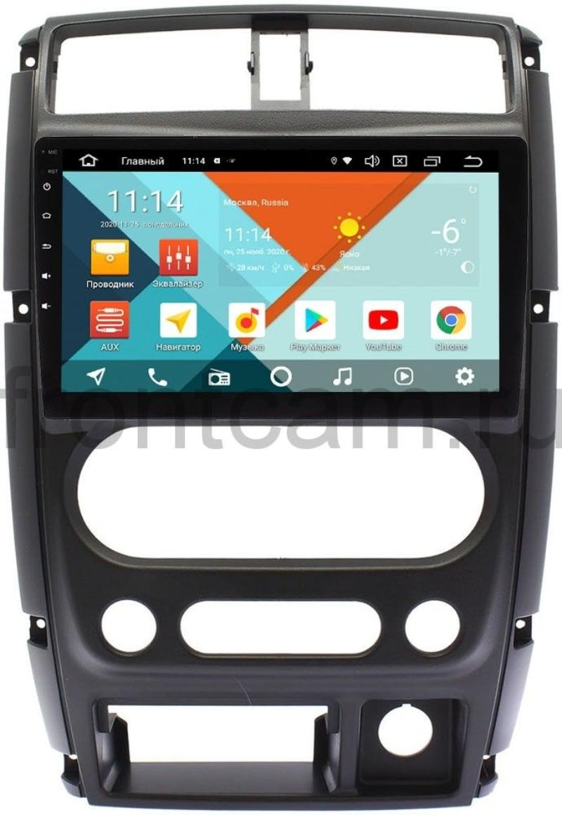 Штатная магнитола Suzuki Jimny III Wide Media KS9-357QR-3/32 DSP CarPlay 4G-SIM на Android 10 (+ Камера заднего вида в подарок!)