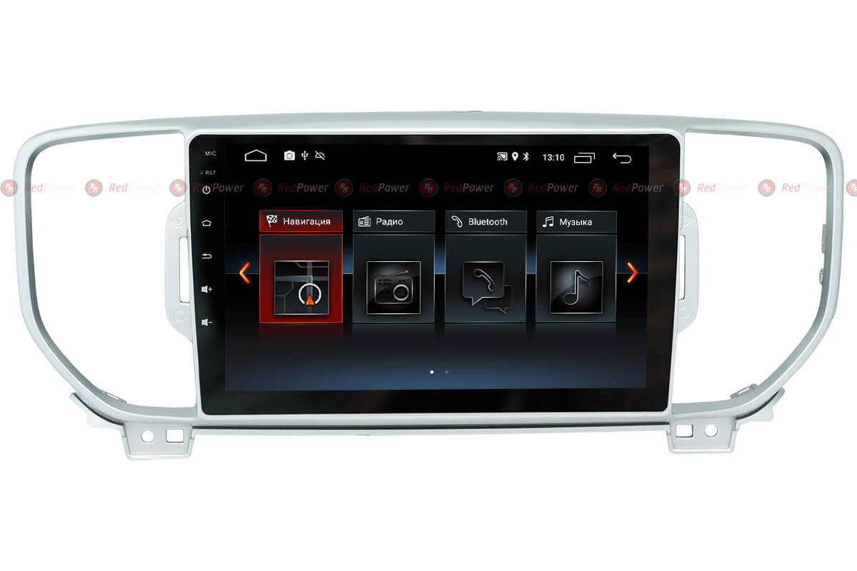 Автомагнитола Redpower 30174 IPS Kia Sportage R (2016-2018) Android 8.1 (+ Камера заднего вида в подарок!)