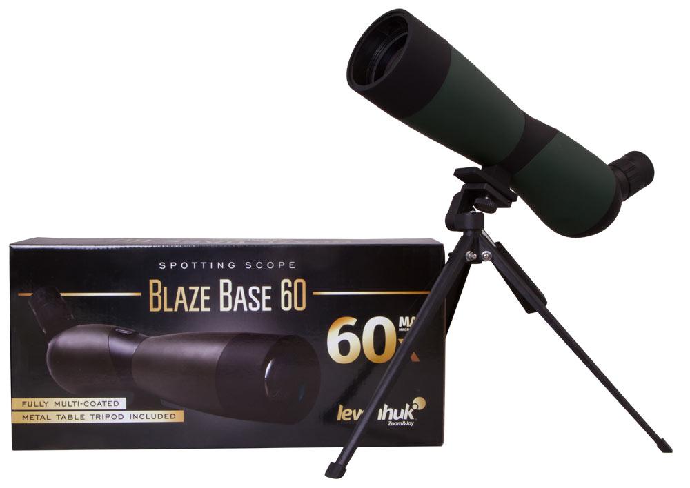 цена Зрительная труба Levenhuk Blaze BASE 60 (+ Салфетки из микрофибры в подарок) онлайн в 2017 году