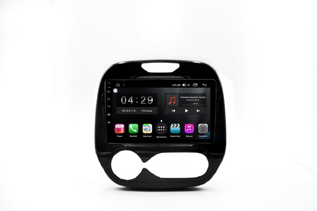Штатная магнитола FarCar s300-SIM 4G для Renault Kaptur на Android (RG733R) (+ Камера заднего вида в подарок!)