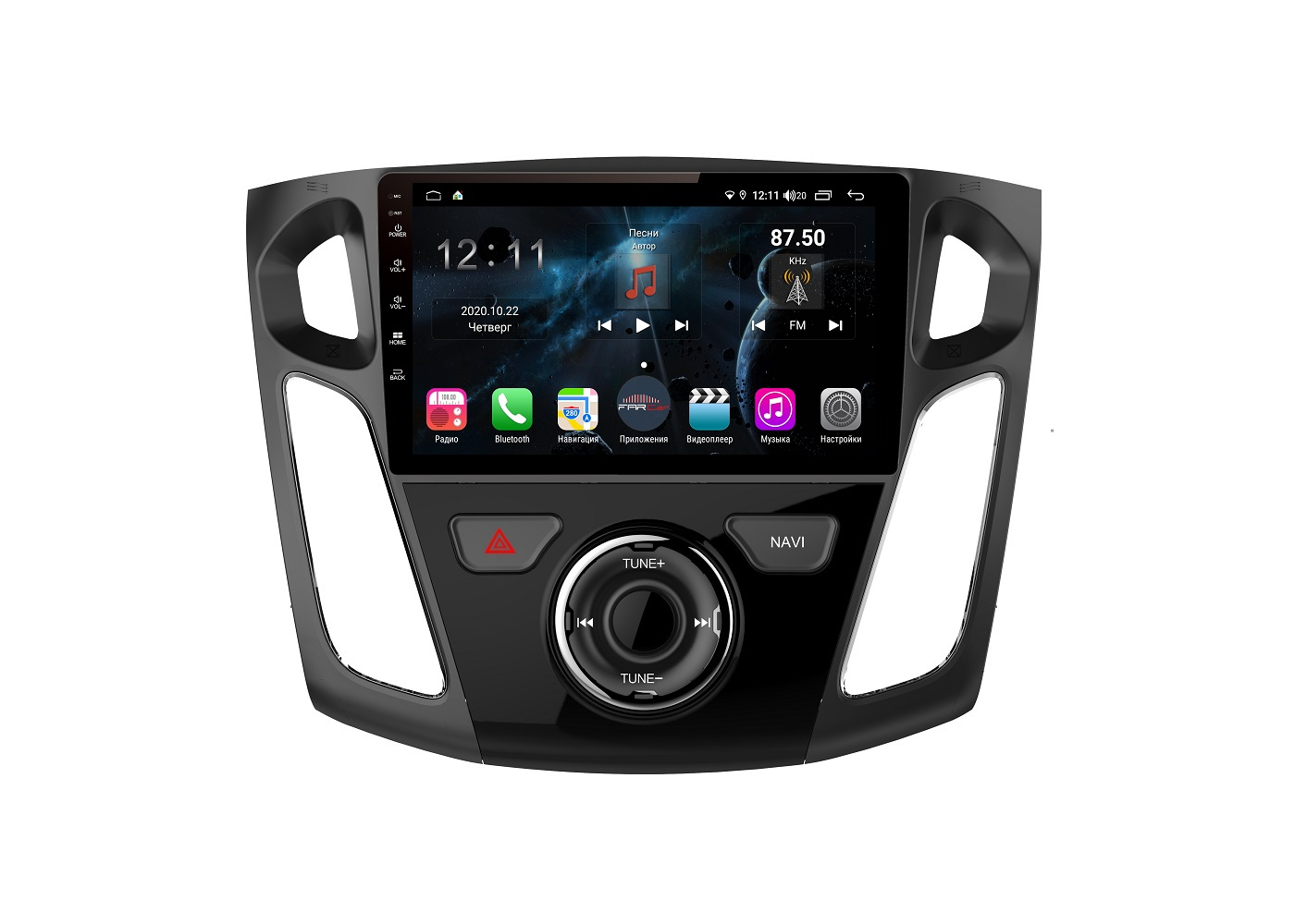 Штатная магнитола FarCar s400 для Ford Focus 3 на Android (H150/501R) (+ Камера заднего вида в подарок!)