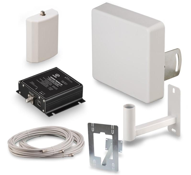 Комплект усиления сотовой связи 3G Kroks KRD-2100 Lite (+ Кронштейн в подарок!)