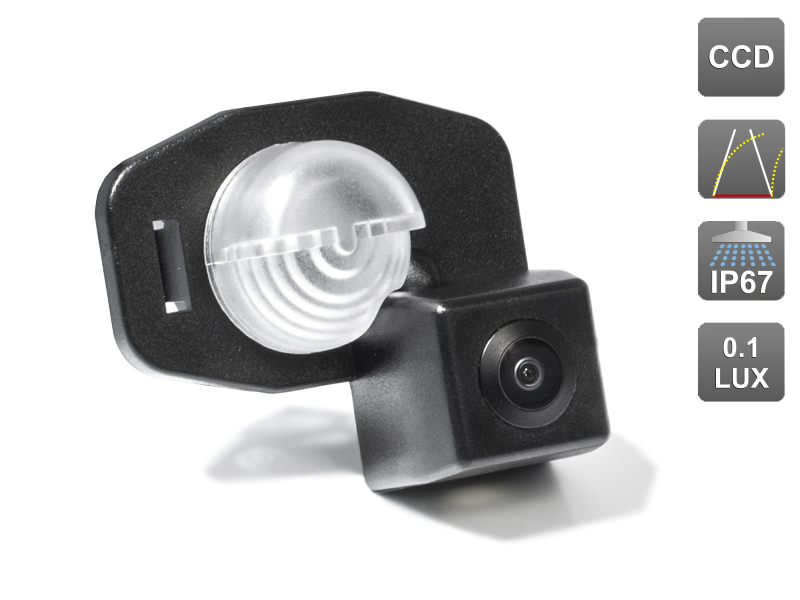 CCD штатная камера заднего вида c динамической разметкой AVIS Electronics AVS326CPR (#092) для TOYOTA COROLLA 300N/MC (2006-2013) / AURIS